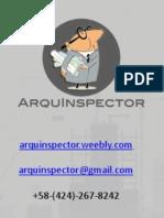 ArquInspector v001