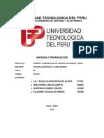 Proyecto Diseño y Elaboracion de Antena Helicoidal 5.8ghz