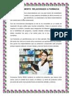 El Emprendimiento Relacionado a Farmacia