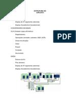 Estrutura Circuito Simulação Calculadora
