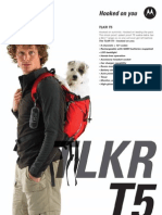 TALKR T5 Black Datasheet