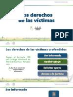 Derechos de Las Victimas