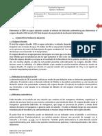 Guía de Laboratorio No. 5 OD y DBO