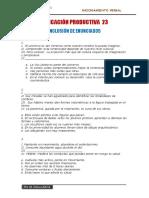 Aplicación Productiva Inclusión 5to