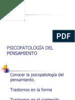 2015 Psicopatología Dee Los Trastornos Del Pensamiento