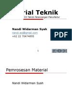Material Teknik Untuk de P3