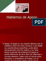 Hablemos de Apego (2)