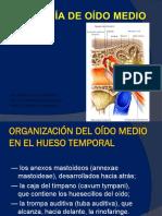Anatomia Oido Medio