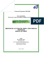 Rainfor Manual de Medicion de Arboles