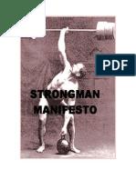 Strong Man Manifesto