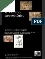 El Criterio Arqueologico Hist.