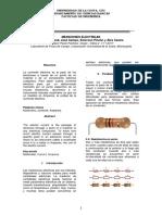 Informe Mediciones Electricas Daniela