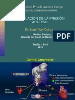 Regulación de la presión arterial