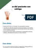 Enfoque Del Paciente Con Vértigo