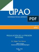 Regulación de la presión arterial v2