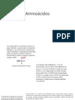 Aminoácidos(1)