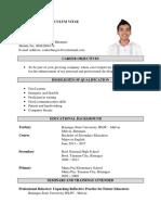 Curriculum Vitae. Lee