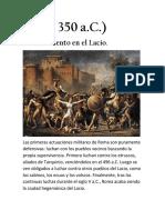 Linea Del Tiempo Derecho Romano