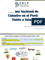 01_sistema Nacional de Catastro-Vision a Futuro