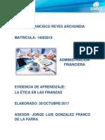 Carlos_Reyes_La Ética en Las Finanzas