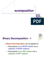 7.1 Binary Decomposition