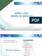 GSPN Light Orden de Servicio