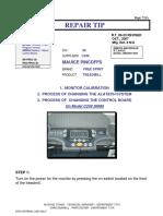 RT06 83rev c249 30686 Calibration Alatech Sytem Control Board