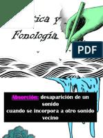 Palabras de Fonetica y Fonologia