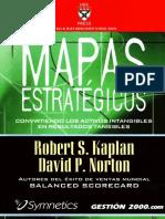 Libro Mapas Estratc3a9gicos Kaplan c2b4n Norton