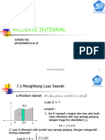 07 Aplikasi Integral Stt Pelatihan