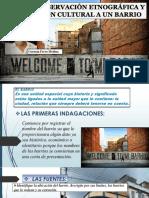 Guia de Observacion Etnografica y Valoracion Cultural a Un Barrio