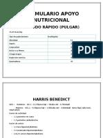 FORMULARIO APOYO NUTRICIONAL