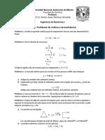 Serie 1 Problemas de Cinética y Termodinámica