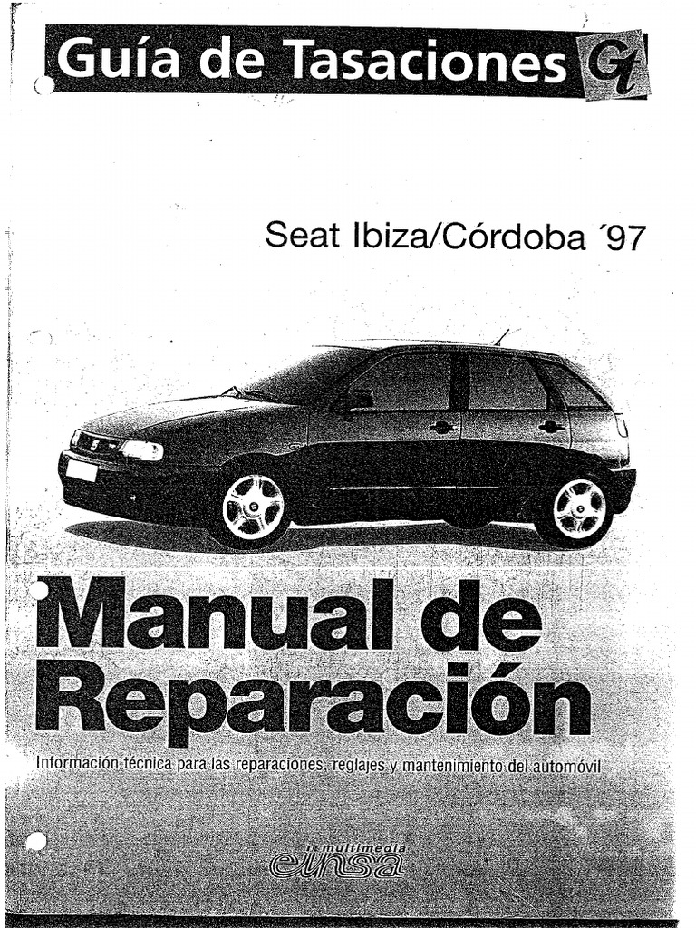manual de taller seat ibiza cordoba 97 rh scribd com manual usuario seat ibiza 1998 manual usuario seat ibiza 2015