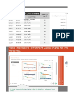 Excel Gantt Chart Template