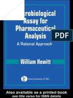 Microbiological Assay for Pharmaceutical Analysis A Rational Approach.pdf