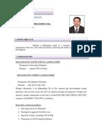 Geotechnical Engineer CV 3+ years Experience _1_