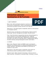 36 IL Formats