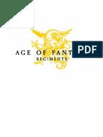 Age of Fantasy Regiments v1.7