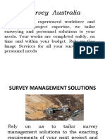 Survey Australia | Survey management solutions | Civil Surveyors Sydney