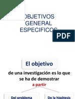 Clase 7 OBJETIVOS General y Especifico