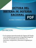 Estructura Del Sistema de Defensa Nacional