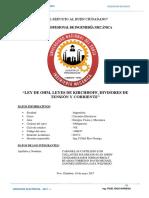 Informe 2do de Circuitos Electricos