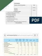 PRESUPUESTO INTERINSTITUCIONAL- cuadros