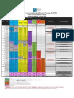 FoCCD Academic Calendar 2016