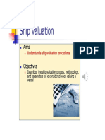 SSP-3 - Ship Valuation