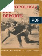 Kendall Blanchard y Alyce Taylor Cheska - Antropología del deporte