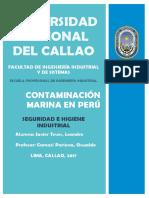 Contaminacion Marina en Perú 1