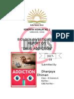 Drug Addiction Project