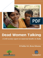 Dead Women Talking Full Report Final
